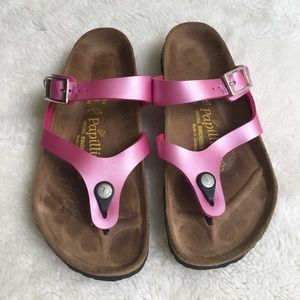 Papillio by Birkenstock Pink Thong Sandals Size 8